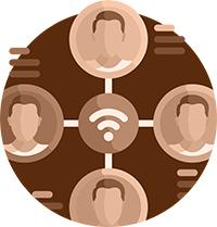 搭配簡單圖文解說服務上萬人次諮詢需求